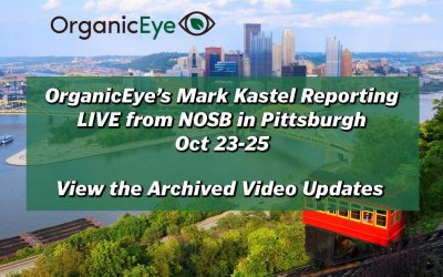 LIVE: OrganicEye Report from NOSB Pittsburgh Oct 23-25